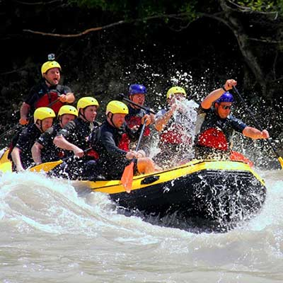 Rafting Rioni river
