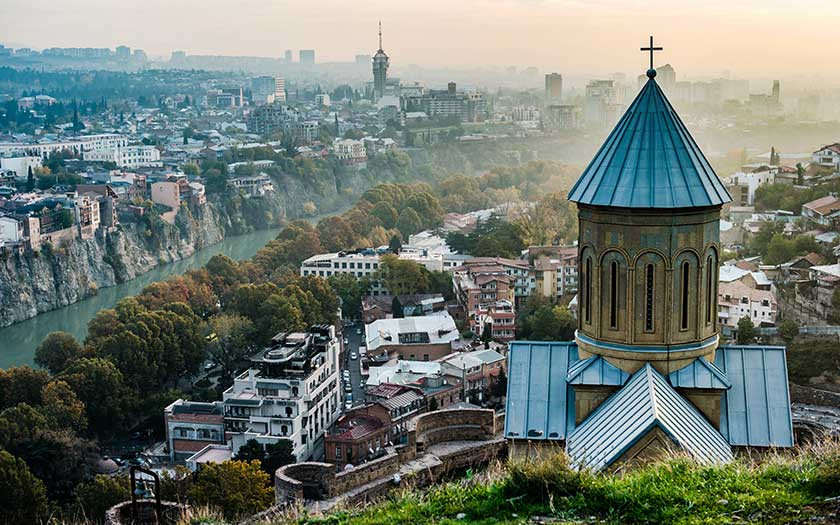 Sources of Borjomi and the Legends of Medieval Georgia (from Tbilisi)