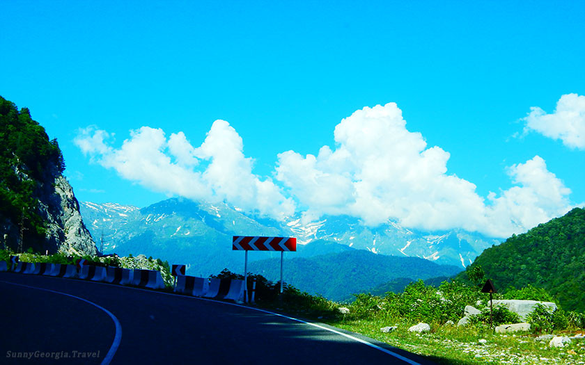 Svaneti - only sky is higher! (from Batumi)